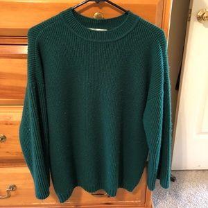 Stitch Fix Emerald Green Sweater 🍁